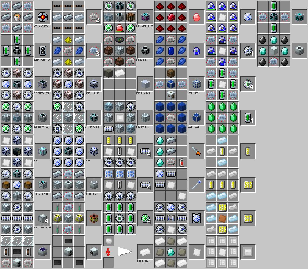 Майнкрафт 1.9.0 все крафты